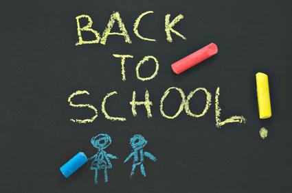 back to school blackboard © rmarinello - Fotolia.com