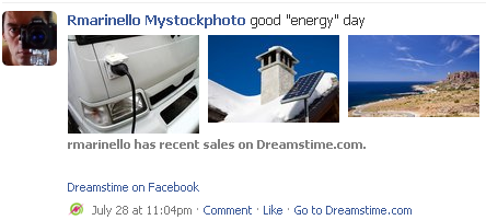 dreamstime facebook application