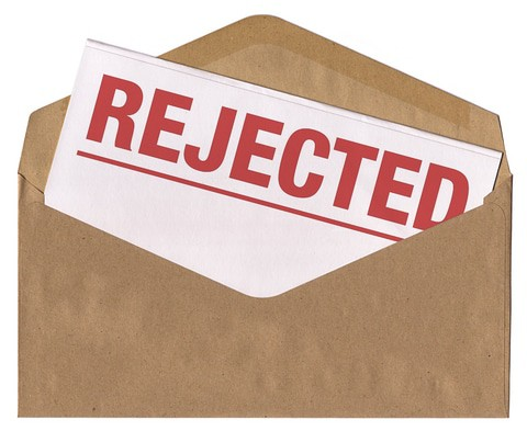 rejected notice letter