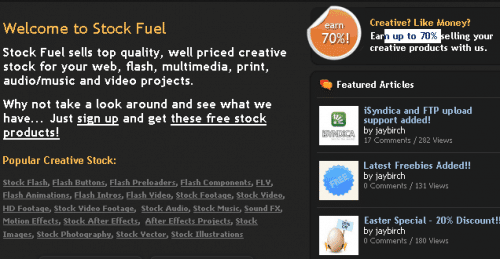 stockfuel home page