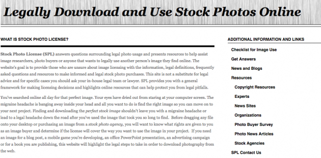 What is Stock Photo License?