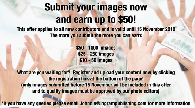 isignstock submit bonus