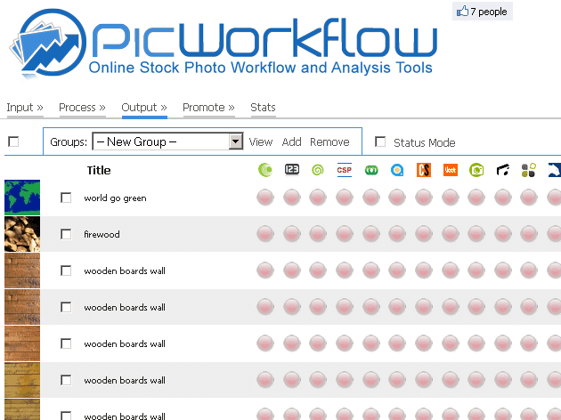 Introducing picWorkflow.com Tools for Stock Photographers with a Contest