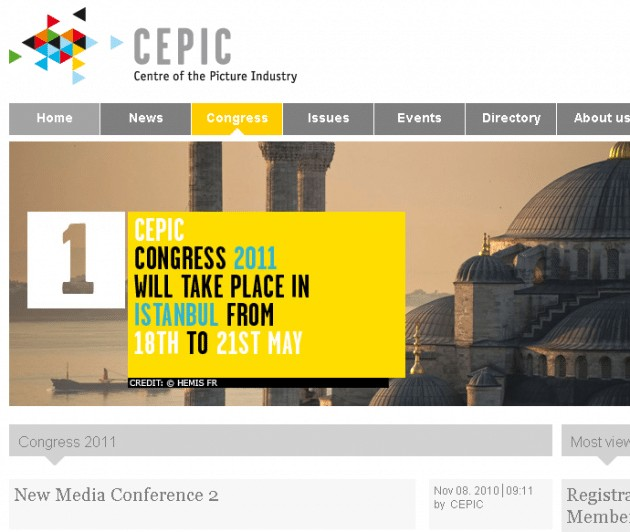 CEPIC new media conference 2 - 2011