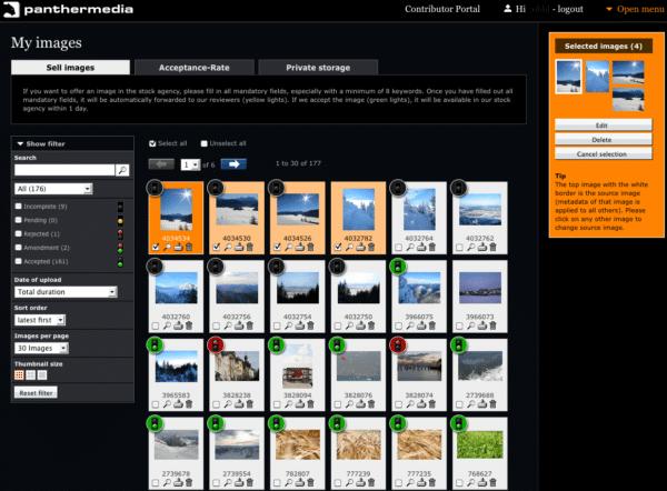 panthermedia contributor portal