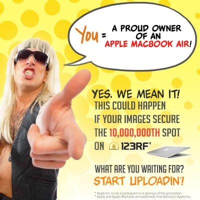 123rf 10millionth image promo