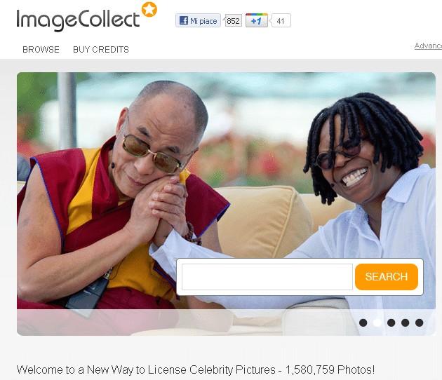 imagecollect homepage