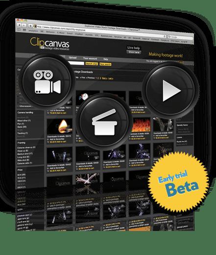 clipcanvas Online video editor
