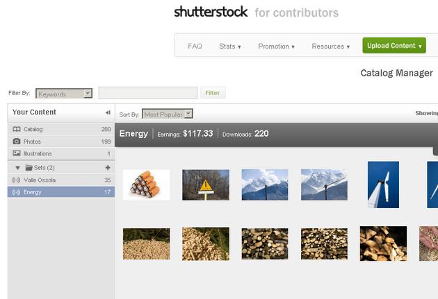 shutterstock catalog manager