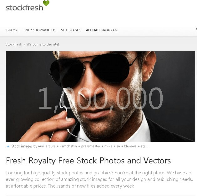 stockfresh home 1million