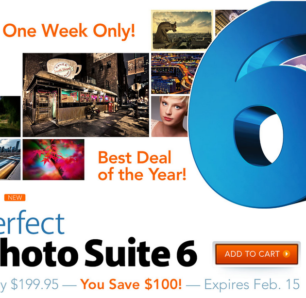 onone software Perfect Photo Suite 6 february deal 100$ OFF