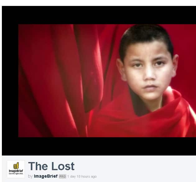 the lost - imagebrief
