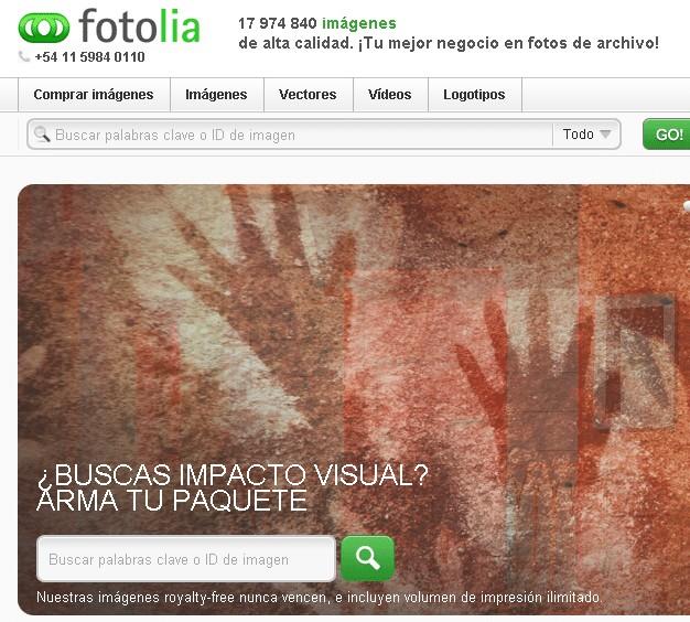 fotolia home argentina