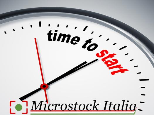 Time To Start Microstock Italia