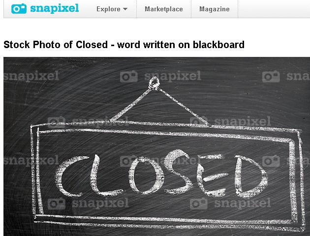 snapixel is closing