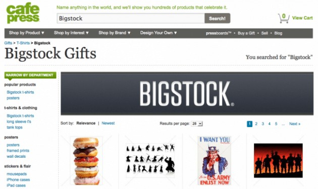 bigstock cafepress