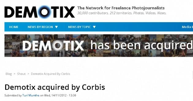 demotix corbis