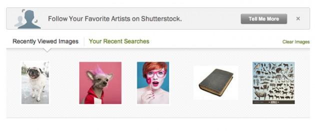 follow Shutterstock Portfolio