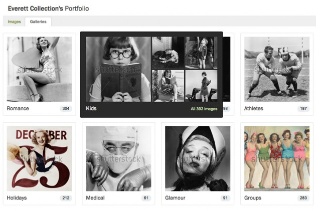 galleries new Shutterstock Portfolio