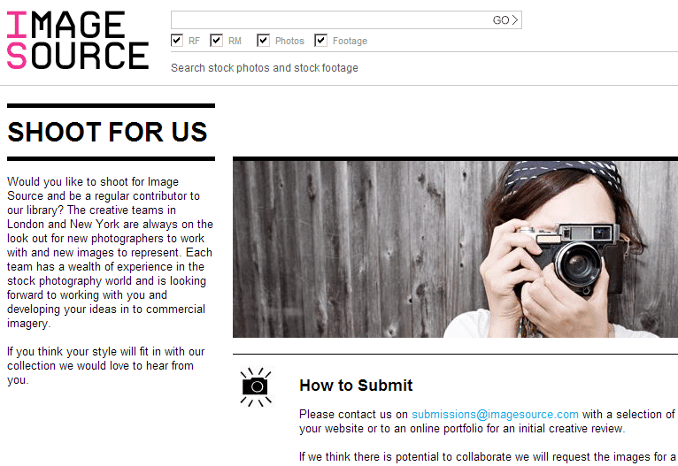 Image Source announces increase in Photographer Royalty rates to 60%