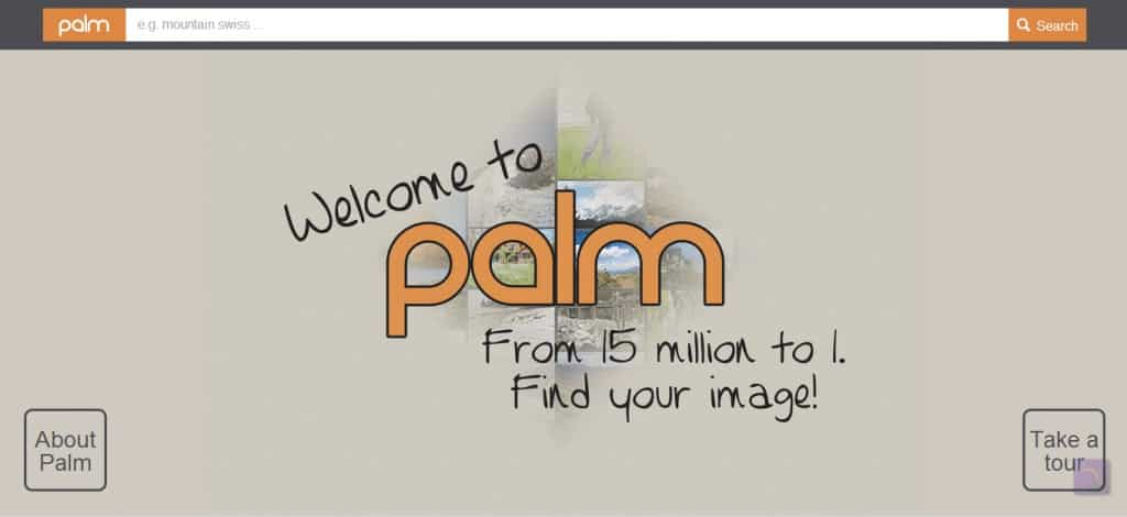Palm - a new image search engine