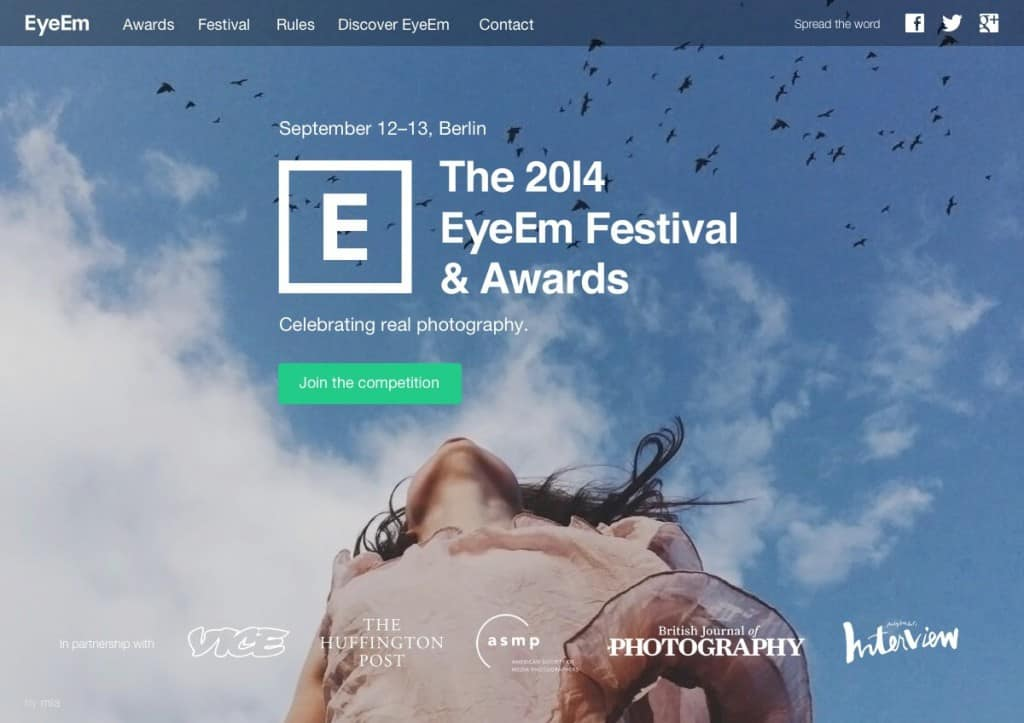 EyeEm launches Awards and Festival