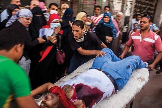Egypt – Crackdown on the Muslim Brotherhood © Bryan Denton