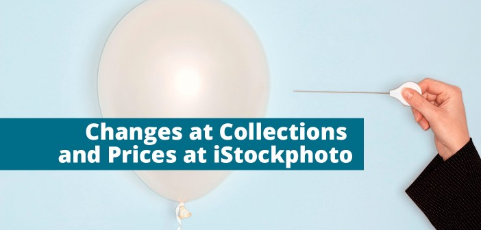Changes at collections and prices at iStockphoto