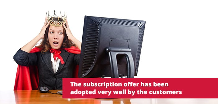 subscription offer istock customer