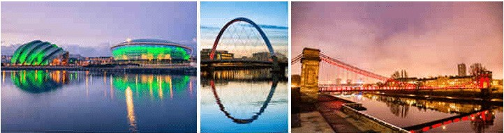 SECC Glasgow | Finnieston Bridge Glasgow | South Portland Street Bridge Glasgow © theasis - iStock