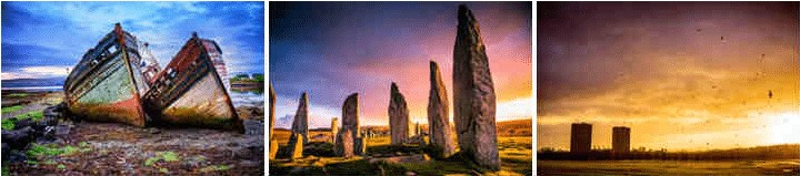 Old Trawlers | Callanish Standing Stones, Isle of Lewis | Stormy Sunrise © theasis - iStock